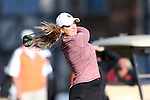 17 April 2016: Boston College's Katelyn Reynolds. The Second Round of the Atlantic Coast Conference's Women's Golf Championship was held at Sedgefield Country Club in Greensboro, North Carolina.