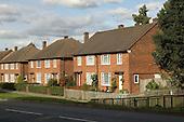 Semi-detached 1950s housing, Harrow, North West London..