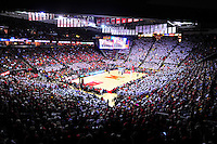 View of Xfinity Center from the stands. Maryland defeated Georgetown 75-71 during a game at Xfinity Center in College Park, MD on Wednesday, November 17, 2015.  Alan P. Santos/DC Sports Box