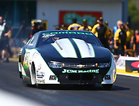 Mar 18, 2017; Gainesville , FL, USA; NHRA pro stock driver Kenny Delco during qualifying for the Gatornationals at Gainesville Raceway. Mandatory Credit: Mark J. Rebilas-USA TODAY Sports