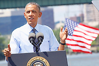 President Barack Obama at Port of Wilmington DE
