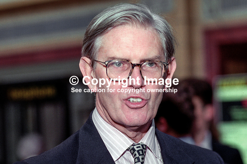 Bill Cash, MP, Conservative Party, UK, 199510190.<br />