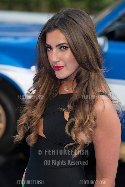 Gabriella Ellis arriving for the 'Fast And Furious 6' Premiere, at Empire Leicester Square, London. 07/05/2013 Picture by: Simon Burchell / Featureflash