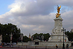 United Kingdom, Great Britain; England; London. The Victoria Memorial Monument in front of Buckingham Palace.