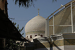 Sayyidah Ruqqaya mosque Damascus<br /> <br /> The mosque was built in 1985 around the mausoleum of Sukayna, the infant daughter of Hussain ibn Ali and great-granddaughter of the prophet Mohammed.