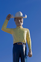Oversized Cowboy figure