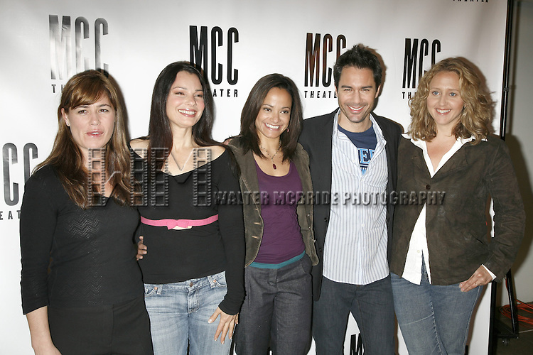 A Meet and Greet with the cast of the new Neil LaBute.Play SOME GIRL(S) presented by the MCC Theater starring:  Maura Tierney,Fran Drescher, Judy Reyes, Eric McCormack and Brooke Smith..New York City..April 27, 2006.© Walter McBride/WM Photography