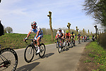 U23 men's race climb the Kemmelberg during Gent-Wevelgem in Flanders Fields 2017 running 249km from Denieze to Wevelgem, Flanders, Belgium. 26th March 2017.<br /> Picture: Eoin Clarke | Cyclefile<br /> <br /> <br /> All photos usage must carry mandatory copyright credit (&copy; Cyclefile | Eoin Clarke)