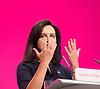 Labour Party Conference <br /> at Manchester Central, Manchester, Great Britain <br /> 23rd September 2014 <br /> <br /> Caroline Flint MP <br /> speech <br /> <br /> Photograph by Elliott Franks <br /> Image licensed to Elliott Franks Photography Services