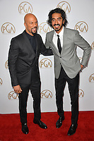 Common &amp; Dev Patel at the 2017 Producers Guild Awards at The Beverly Hilton Hotel, Beverly Hills, USA 28th January  2017<br /> Picture: Paul Smith/Featureflash/SilverHub 0208 004 5359 sales@silverhubmedia.com