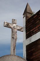 Mexican Cemetery 21 - Photograph taken in El Panteón Cementario, also know as Cementario Viejo or old cemetery, in Puerto Vallarta, Mexico.