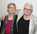 Anne Fausto-Sterling and Paula Vogel attend the Broadway Opening Night Performance of  'Indecent' at The Cort Theatre on April 18, 2017 in New York City.