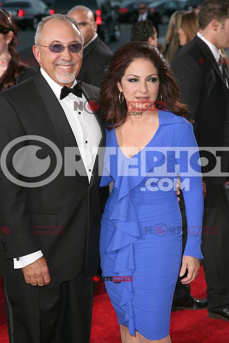 Emilio Estefan and Gloria Estefan at the 2011 NCLR ALMA Awards held at Santa Monica Civic Auditorium on September 10, 2011 in Santa Monica, California. © MPI21 / MediaPunch Inc.