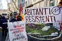 Protesta degli Abitanti resistenti