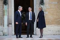 Bill Gates meets with King Philippe & Queen Mathilde of Belgium - Belgium
