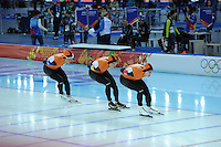 OLYMPICS: SOCHI: Adler Arena, 21-02-2014, Team Pursuit, ©photo Martin de Jong