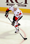 17 October 2009: Ottawa Senators' defenseman Alexandre Picard in action during the first period against the Montreal Canadiens at the Bell Centre in Montreal, Quebec, Canada. The Senators defeated the Canadiens 3-1. Mandatory Credit: Ed Wolfstein Photo