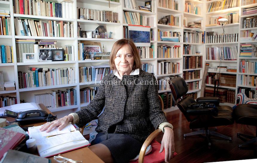 , è stata l'agente di fotografi italiani e stranieri più importante del mondo. Milano, 21 marzo 2013. © Leonardo Cendamo / rosebud2