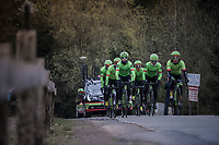 Team Cannondale-Drapac during their Li&egrave;ge-Bastogne-Li&egrave;ge 2017 recon<br /> <br /> 103rd Li&egrave;ge-Bastogne-Li&egrave;ge 2017 (1.UWT)<br /> One Day Race: Li&egrave;ge &rsaquo; Ans (258km)