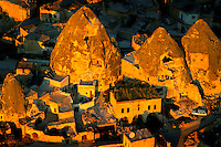 Goreme, Cappadocia, Turkey, July 2005. Dutch Photographer Frits Meyst and his wife Jillian Macdonald restored an old rock house in the village of Goreme. Since Roman Times people have been cutting graves and home out of the Soft tufo 'Fairy Chmney' rocks of Cappadocia. Photo by Frits Meyst / MeystPhoto.com