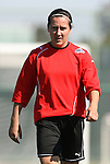 28 March 2009: Washington's Kati Jo Spisak. The Washington Freedom practiced on Field 2 at the Home Depot Center in Carson, California the day before playing in the Women's Professional Soccer inaugural game.