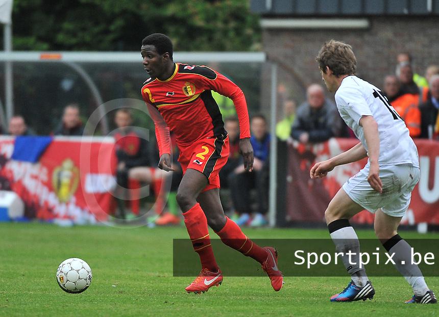Georgia U19 - Belgium U19 : David Iboma<br /> foto DAVID CATRY / Nikonpro.be