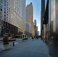 Buildings in Midtown Manhattan, New York, New York, USA. Picture by Manuel Cohen