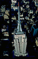 Empire State Building, designed by Shreve, Lamb &amp; Harmon, William F. Lamb as chief designer (&amp;Gregory Johnson), aerial