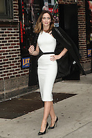 NOV 25 Emily Blunt At Late Show With David Letterman NY