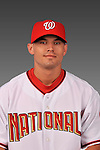 14 March 2008: ..Portrait of Seth Bynum, Washington Nationals Minor League player at Spring Training Camp 2008..Mandatory Photo Credit: Ed Wolfstein Photo