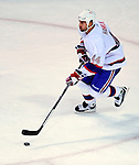 15 November 2008:  Montreal Canadiens' defenseman Roman Hamrlik from the Czech Republic skates against the Philadelphia Flyers in the first period at the Bell Centre in Montreal, Quebec, Canada.  The Canadiens, celebrating their 100th season, fell to the visiting Flyers 2-1. ***Editorial Sales Only***..Mandatory Photo Credit: Ed Wolfstein Photo *** Editorial Sales through Icon Sports Media *** www.iconsportsmedia.com