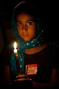 Hazuri Kaur Dhillon attends the candle light vigil at the Sikh Gurudwara of North Carolina in Durham to honor the victims of the Oak Creek shooting on Wednesday August 8th 2012.
