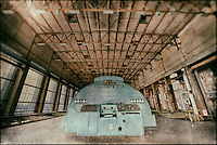 ECVB derelict powerplant in Belgium, processed to emulate wet plate technique.