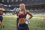 Ole Miss Rebelettes dance celebrates at the Louisiana Superdome in New Orleans, La. on Saturday, September 11, 2010. Ole Miss won 27-13.