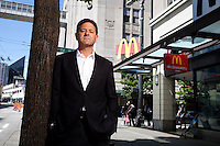 Entrepeneur and Venture Capitalist, Nick Hanauer (Second Avenue Group) photographed in Seattle Washington