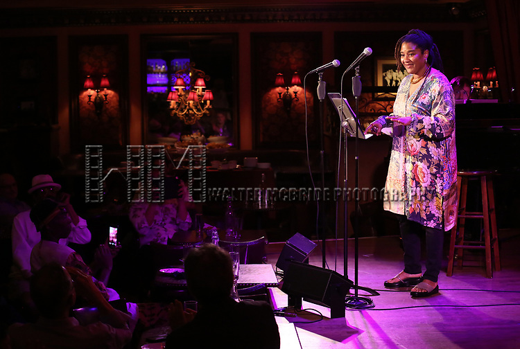Lynn Nottage attends 2017 New York Drama Critics' Circle Awards Reception at Feinstein's/54 Below on May 18, 2017 in New York City.