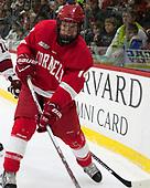 Mitch Vanderlaan (Cornell - 14) - The Harvard University Crimson defeated the visiting Cornell University Big Red on Saturday, November 5, 2016, at the Bright-Landry Hockey Center in Boston, Massachusetts.