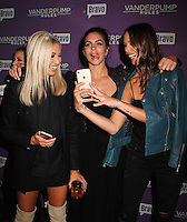 NEW YORK, NY - NOVEMBER 2:  Stassi Schroeder, Katie Maloney and Kristen Doute  pictured as BRAVO's 'Vanderpump Rules' cast at the kick-off of first ever 'VanderCrawl' bar crawl in New York, New York on November 2, 2016. Credit: Rainmaker Photo/MediaPunch