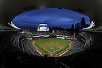 MINNEAPOLIS - MAY 11:  A general view of Target Field as 38, 764 fans watch the Minnesota Twins play the Chicago White Sox at Target FIeld in Minneapolis, Minnesota on May 11, 2010..  The White Sox defeated the Twins 5-1.  (Photo by Ron Vesely)