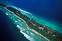 Majuro Island between Laura and D.U.D.; Majuro Atoll and Lagoon, Marshall Islands, Micronesia.