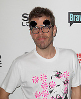 Perez Hilton.Bravo's Andy Cohen's Book Release Party For &quot;Most Talkative: Stories From The Front Lines Of Pop Held at SUR Lounge, West Hollywood, California, USA..May 14th, 2012.half length pink black white print top sunglasses shades stubble facial hair .CAP/ADM/KB.&copy;Kevan Brooks/AdMedia/Capital Pictures.