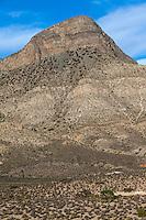 Red Rock Canyon, Nevada.  Tuttlehead Peak.