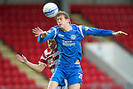 St Johnstone v Hamilton Accies...10.05.11.Murray Davidson and Alex Neil.Picture by Graeme Hart..Copyright Perthshire Picture Agency.Tel: 01738 623350  Mobile: 07990 594431