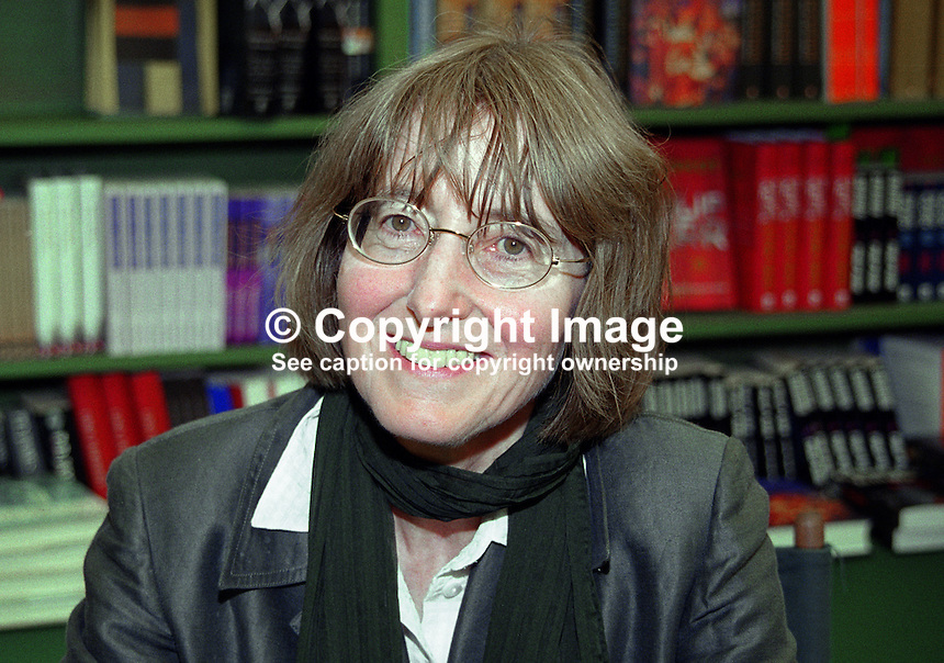 Janet Todd, writer, author, biographer, Britain, UK. Author of &quot;A Vindication of the Rights of Woman&quot;. Taken at or during Hay Book Festival. Ref: 2000050508.<br />