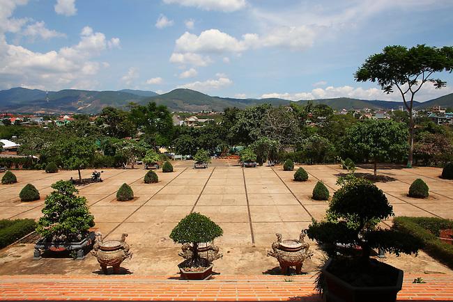 Linh An Tu Pagoda, near Dalat, Vietnam. April 19, 2016.