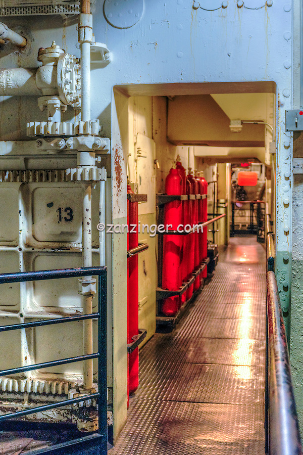 """Haunted Watertight Door 13, RMS Queen Mary; Cruise ship; Hotel; Boiler Room; Controls Pipes, Long Beach; CA; """"Door 13"""" crushed at least two men to death, at different points during the ship's history"""