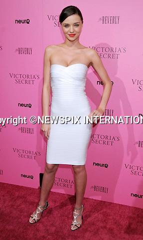 """MIRANDA KERR .at Victoria's Secret Supermodels release of the 2011 What Is Sexy? List & kick off to the Bombshell Summer Tour at The Beverly, Los Angeles, California_12 May 2011.Mandatory Photo Credit: ©Crosby/Newspix International..**ALL FEES PAYABLE TO: """"NEWSPIX INTERNATIONAL""""**..PHOTO CREDIT MANDATORY!!: NEWSPIX INTERNATIONAL(Failure to credit will incur a surcharge of 100% of reproduction fees)..IMMEDIATE CONFIRMATION OF USAGE REQUIRED:.Newspix International, 31 Chinnery Hill, Bishop's Stortford, ENGLAND CM23 3PS.Tel:+441279 324672  ; Fax: +441279656877.Mobile:  0777568 1153.e-mail: info@newspixinternational.co.uk"""