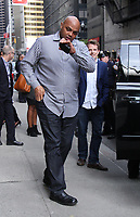 NEW YORK, NY - MAY 4: Charles Barkley at The Late Show With Stephen Colbert in New York City on May 04, 2017. Credit: RW/MediaPunch