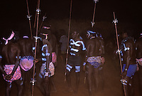 Rare traditional Aboriginal Ceremony in the Outback of Australia, Northern Territory, NT