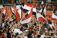 D.C. United fans. The New England Revolution defeated D.C. Untied 2-1, at RFK Stadium, Saturday July 27 , 2013.